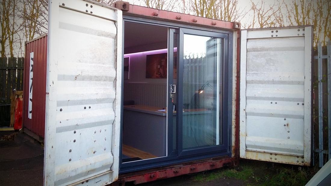 Shipping Container Garden Office