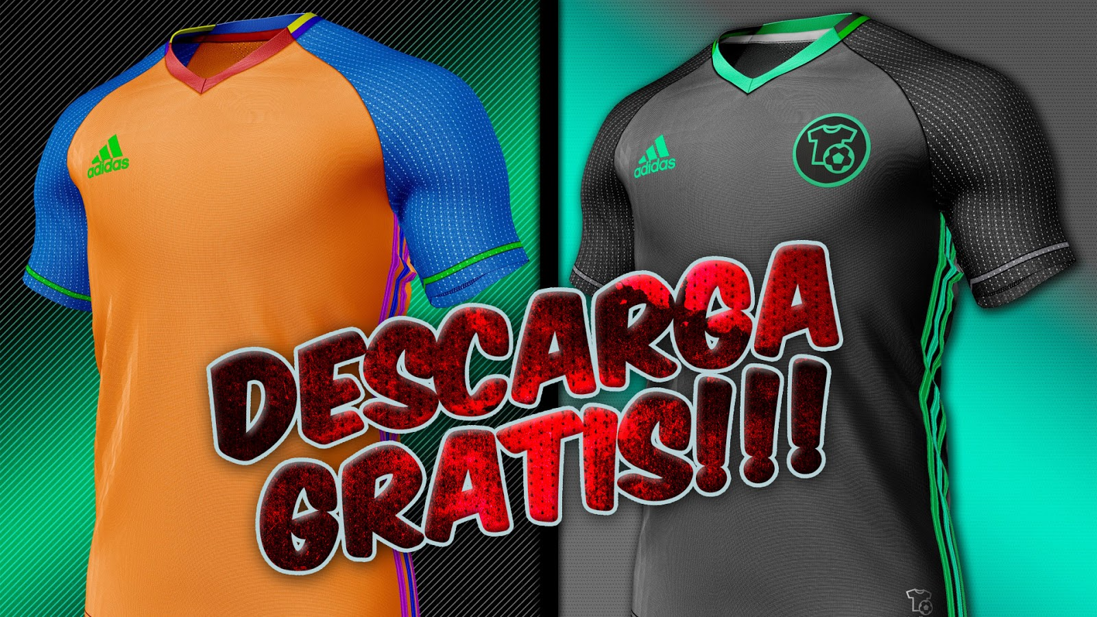 Download TEMPLATE ADIDAS ADIZERO CONDIVO :: DESCARGA :: PSD ...