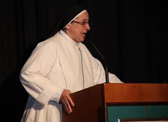 Biarawati Gereja Katolik Spanyol, Lucia Caram, memicu kemarahan atas komentarnya yang meragukan keperawanan Maria, Ibu Yesus. Foto / Wikipedia