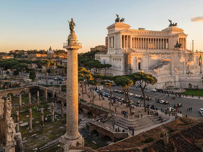 La columna de Trajano: El diario de guerra de un emperador tallado en piedra | Italia