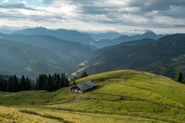 Almwanderung zur Hochkaseralm  Wandern Hochkönig  Wanderung SalzburgerLand 04