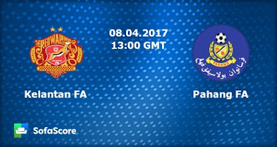 Live Streaming Kelantan vs Pahang 8 April 2017 Liga Super