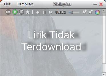 Memperbaiki MiniLyrics Tidak Mau Download atau Tampil Liriknya