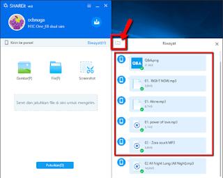 Cara Share File Super Cepat Menggunakan SHAREit