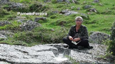 """187 Land  Art  Bodegas Aroa  Pamen Pereira Navarra - Land  Art  Pamen Pereira, ha sido elegida por Bodegas Aroa, para participar en el certamen """"Arte en la Viña"""", celebrado en el pueblo de Zurucuain, en Navarra. - www.casaruralurbasa.com"""