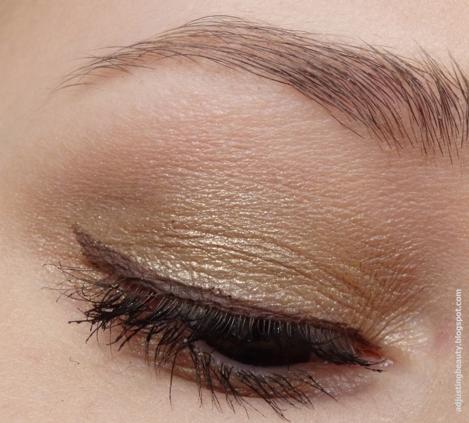 Review E L F Cream Eyeliner Coffee Adjusting Beauty
