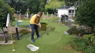 The Ryder Legends Mini Golf course at The Belfry Hotel and Resort