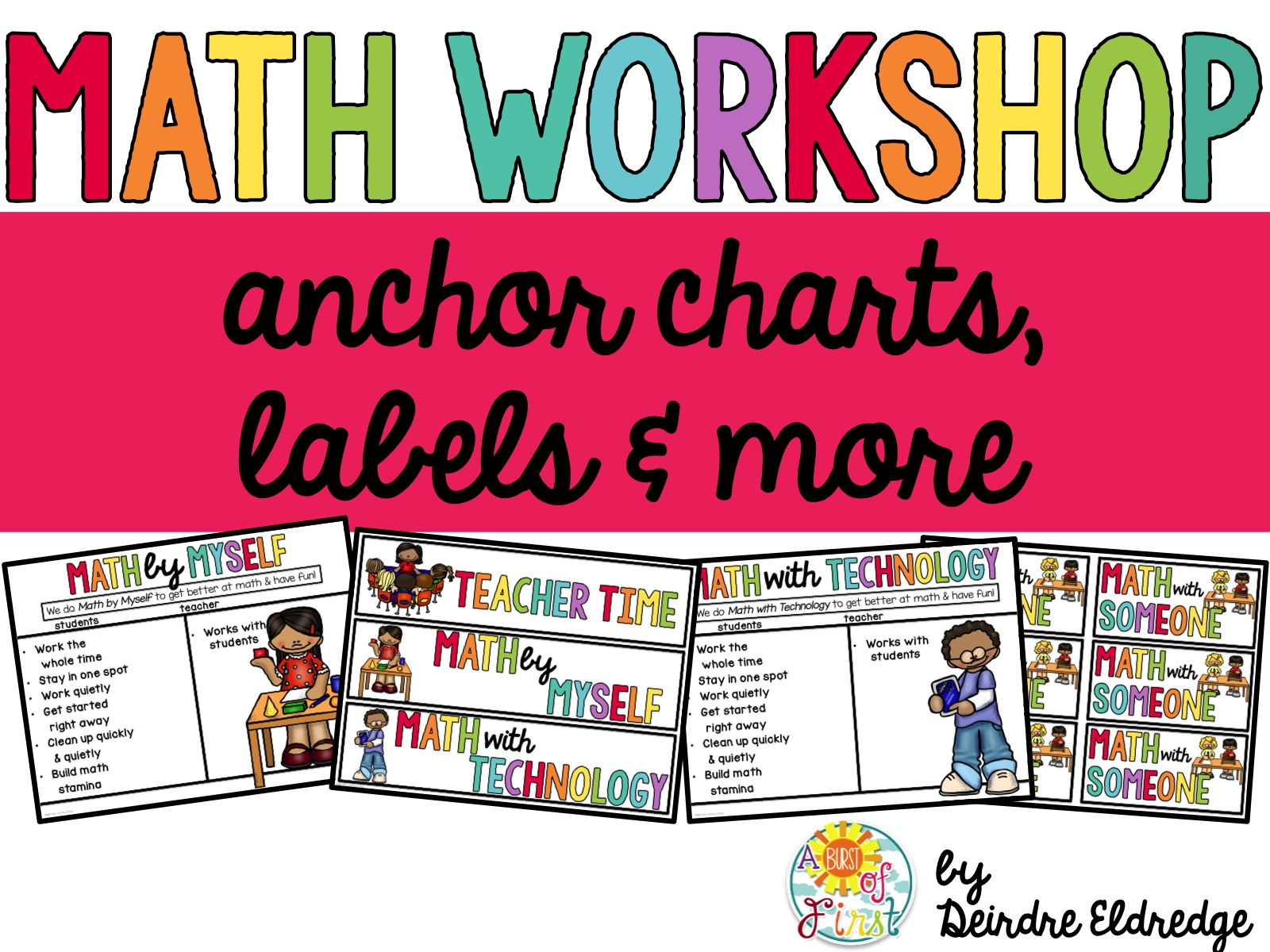 The Ins & Outs of Math Workshop - A Burst of First