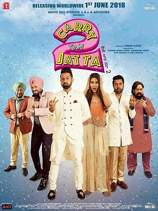 Carry on Jatta 2 (2018) Punjabi 400MB pDVDRip 480p
