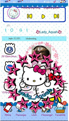 Hello Kitty Classic Theme itz For Vivo