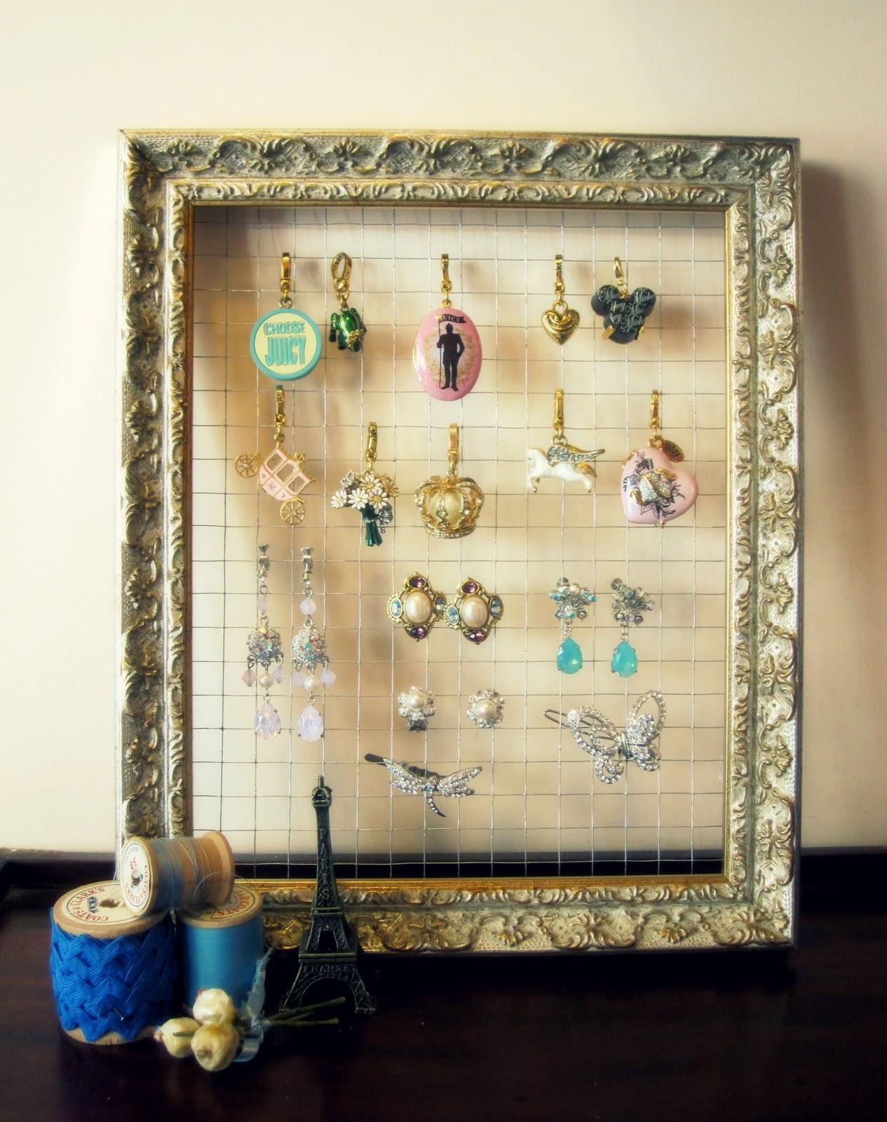 Nozomi Crafts: DIY jewelry holder