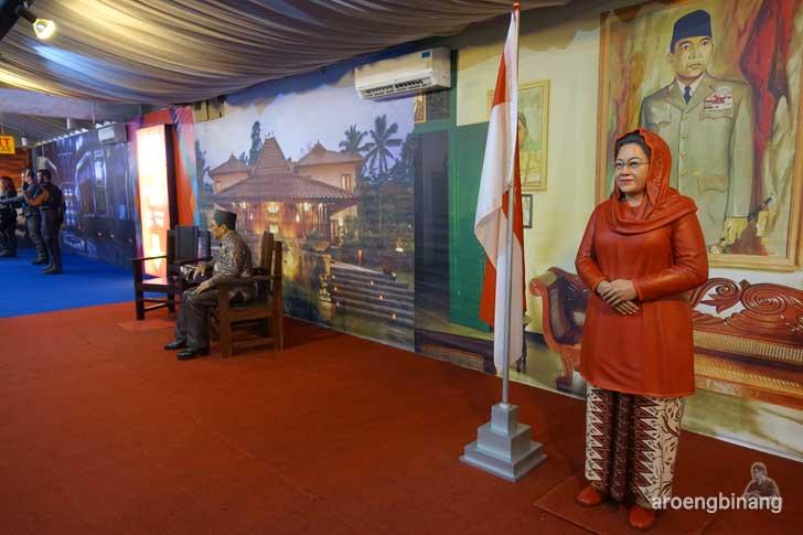 Megawati Soekarnoputri de arca statue art museum yogyakarta
