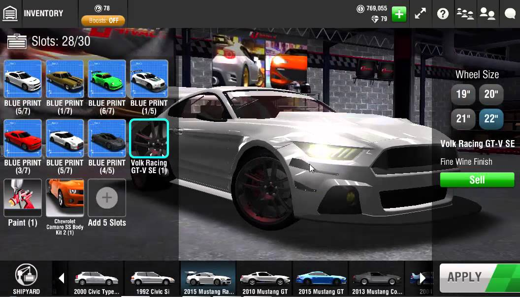 Open racing rivals