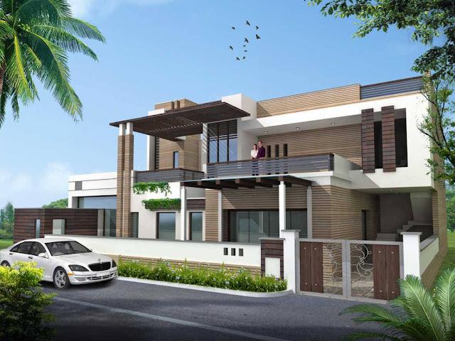 Rumah Modern Lantai 2 Ukuran 72