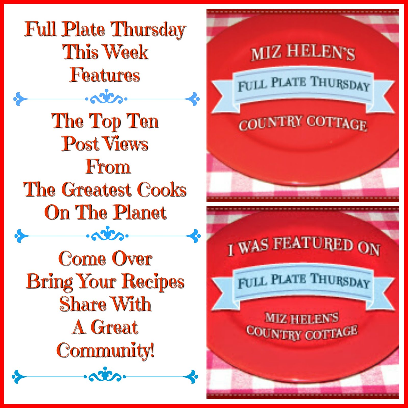 Full Plate Thursday,438 Current Party
