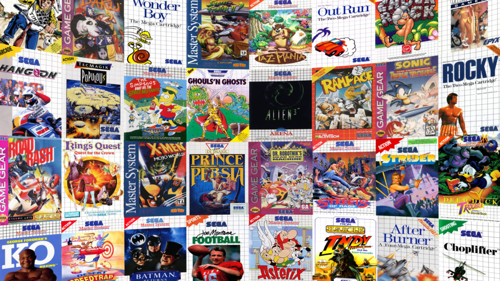 MasterSystem GameGearFanart - All Sega Master System Roms Download