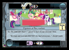 My Little Pony Hysterical Recreation Marks in Time CCG Card