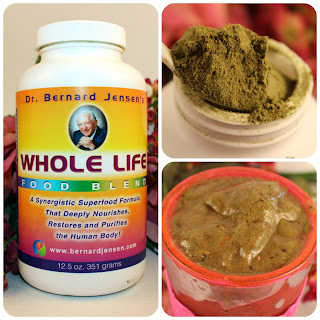 Dr. Bernard Jensen's Whole Life Super-food Formula