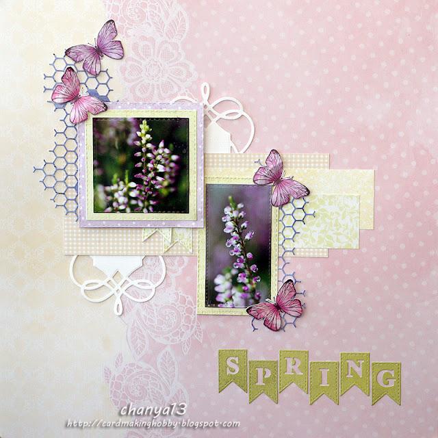 235. LO wiosenne z motylami