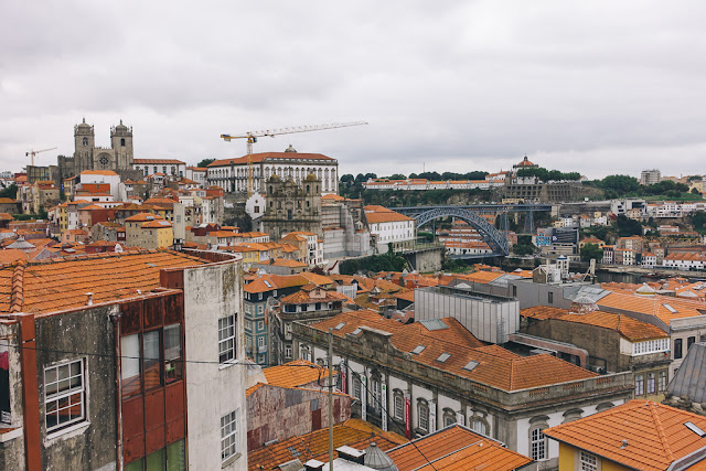ヴィトーリア展望台(Miradouro da Vitoria)からの眺め