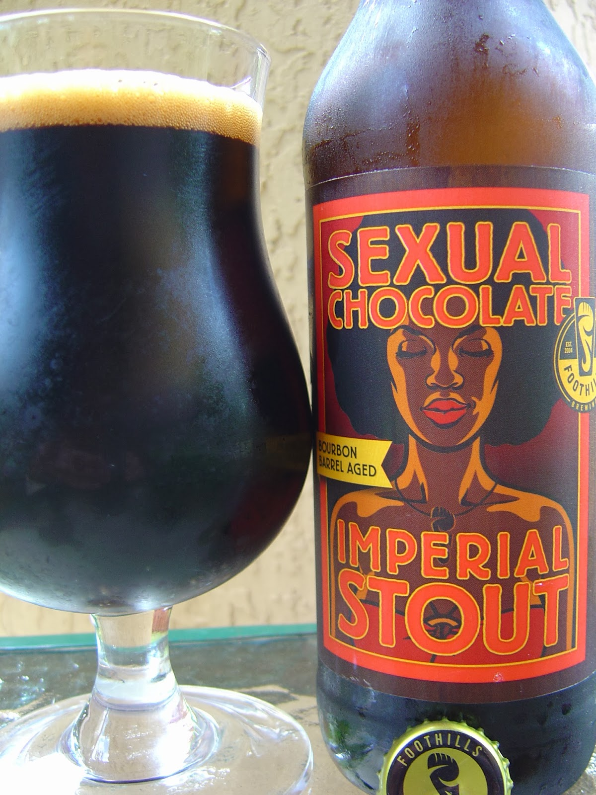 Sexual chocolate beer foothills