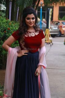 Actress Aathmika in lovely Maraoon Choli ¬  Exclusive Celebrities galleries 078.jpg
