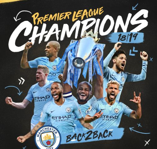 Manchester City Juara Liga Inggris 2018-2019