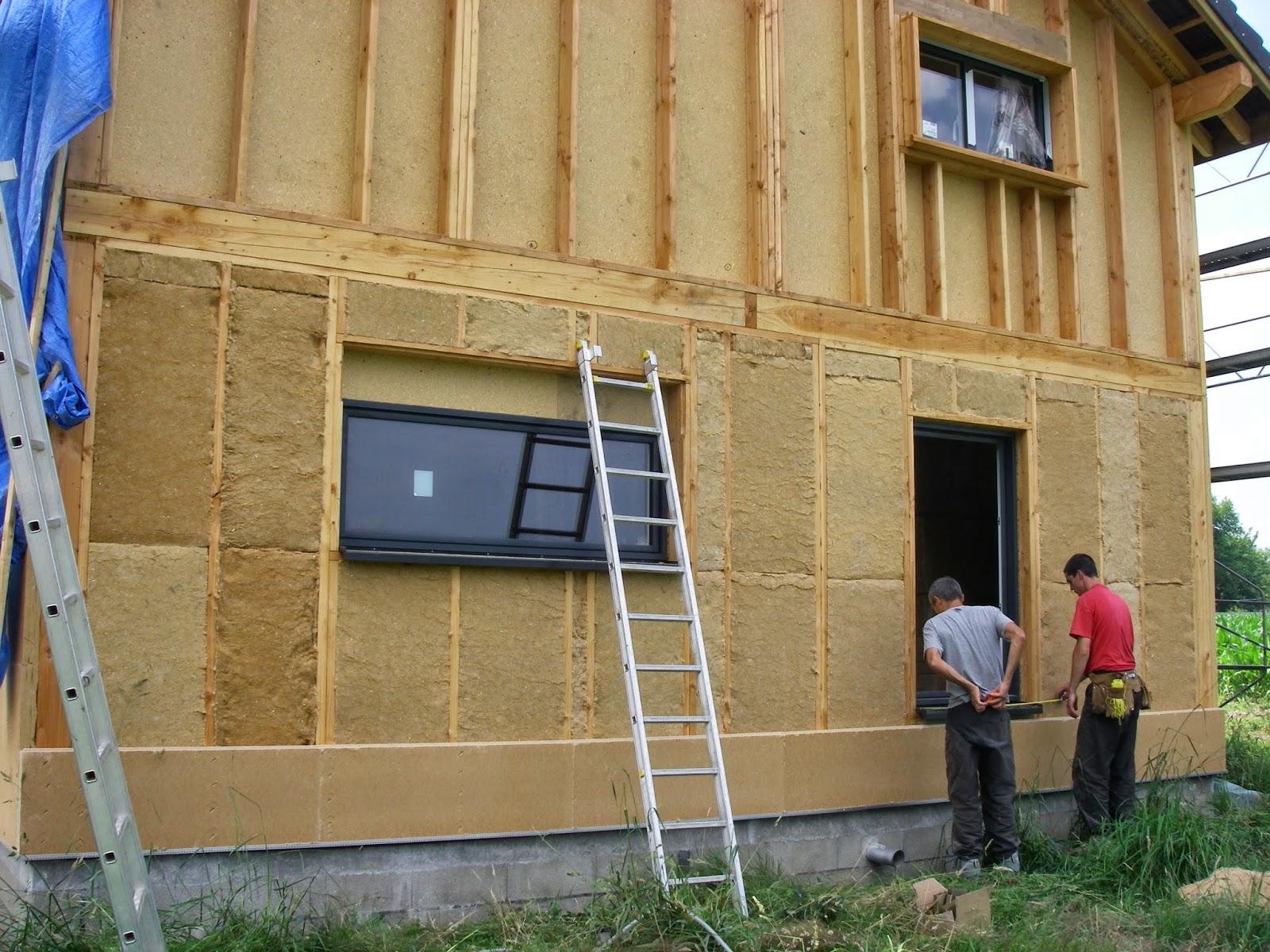 Maison ossature bois plan for Autoconstruction maison ossature bois
