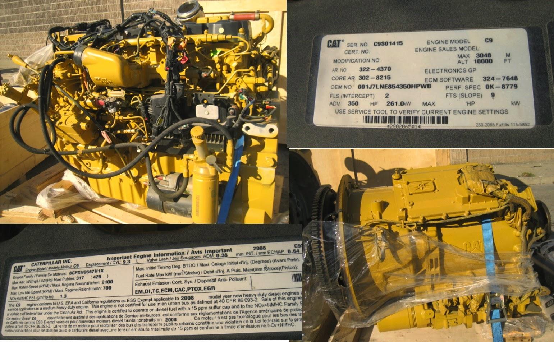 CATERPILLAR C9 TRUCK ENGINES   SENG LIAN HUAT ENGINEERING WORK