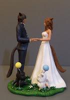 cake tops top cake statuine sposi cosplayer artistiche realizzate a mano