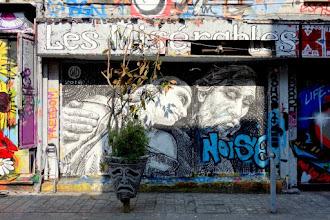 Sunday Street Art : WD - rue Dénoyez - Paris 20