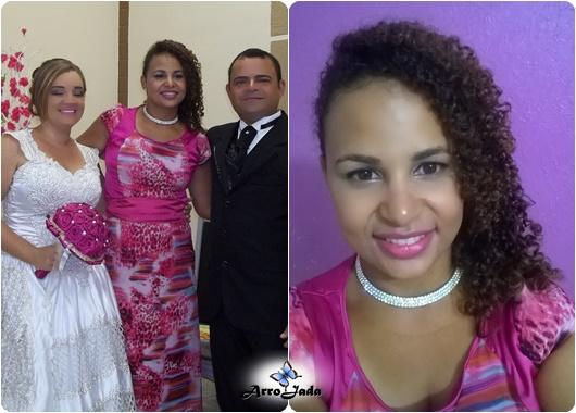Roupa Madrinha Rosa