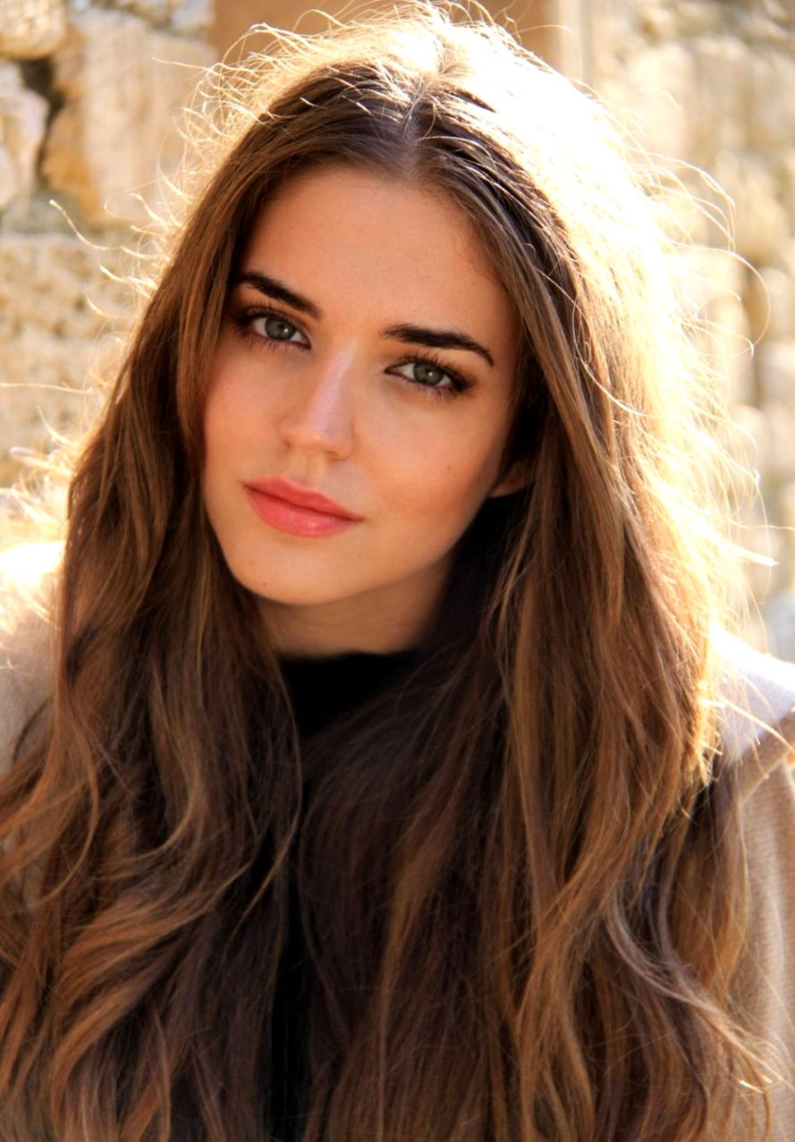Spanish Model Clara Alonso hair makeup ♥ Beauty Pinterest