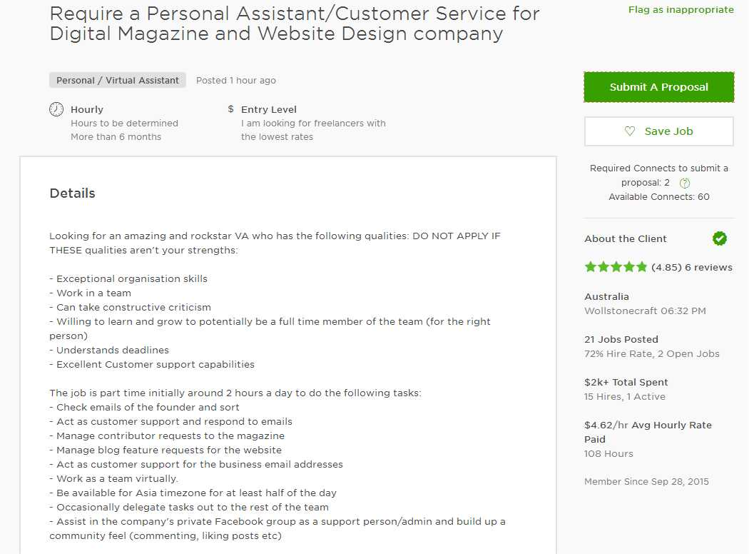 Examples Of Cover Letters For Website Design Proposals. Upwork Cover Letter  Sample For