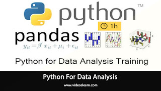 Python For Data Analysis | Python Pandas Tutorial | Learn Python | Python Training