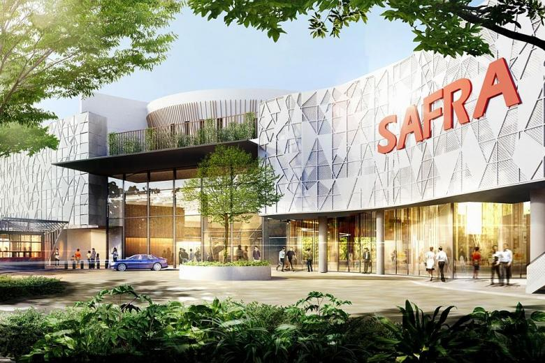 An artist's impression of the refurbished Safra Mount Faber.