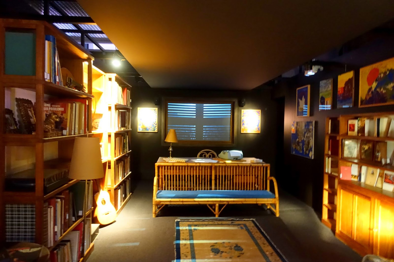 Stanza Studio In Casa rome the second time: elsa morante's room - a glimpse into