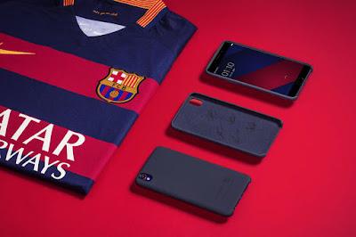OPPO F1 Plus Keluarlkan Seri FC Barcelona Untuk Para Penggermarnya