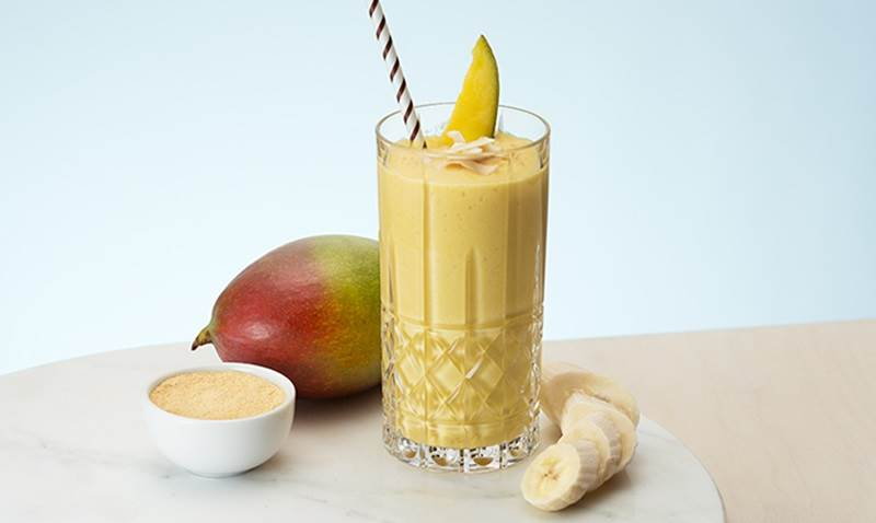 Smoothie de Manga e Banana
