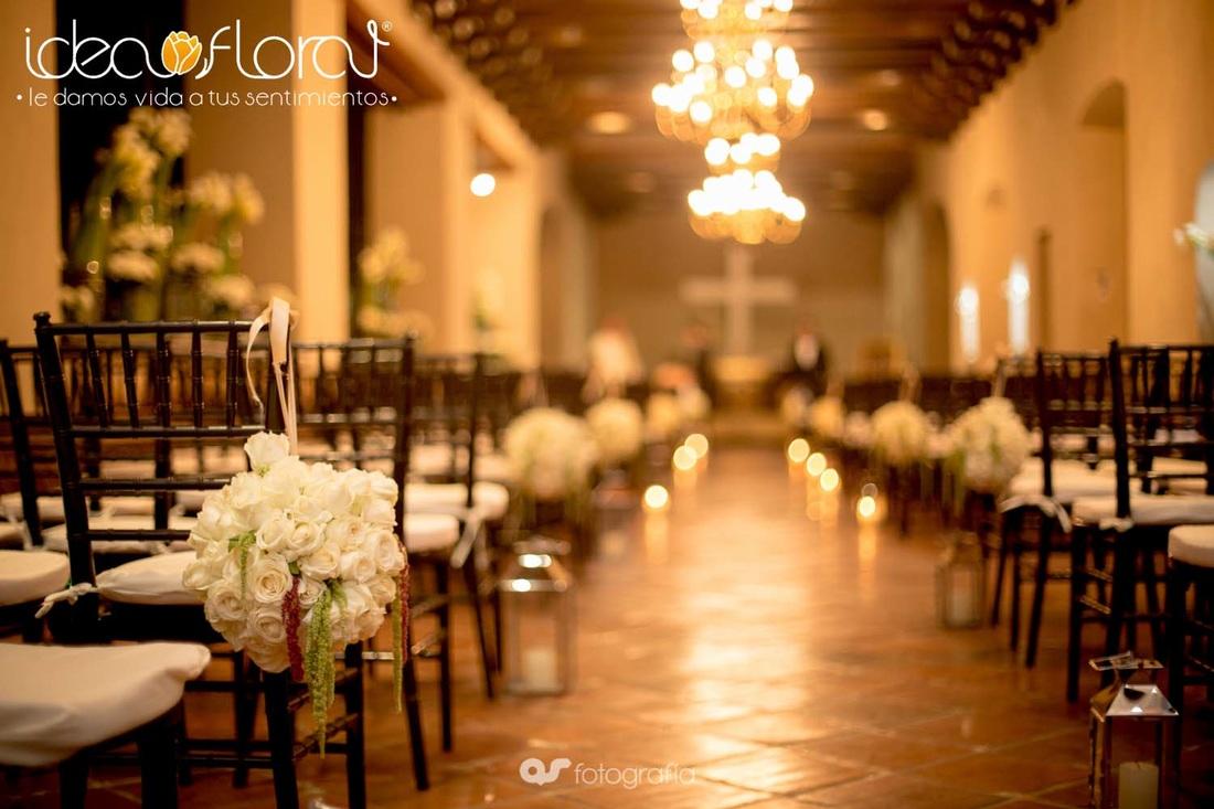 Ideas para decorar con flores tu boda civil idea floral - Decoracion ceremonia civil ...