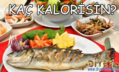 balığın kalorisi