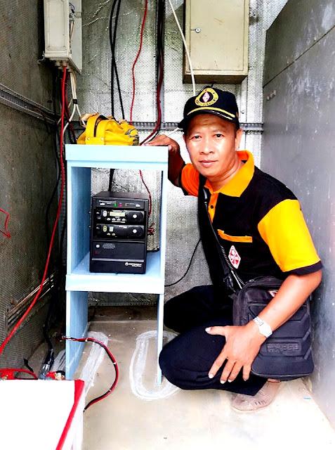 Alat dan Perangkat Radio Pancar Ulang (Repeater) Murakata Barabai - Kal Sel