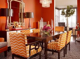 color decoration ideas Orange