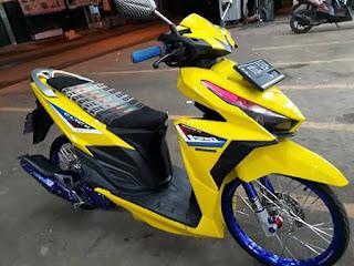 10 Poto Modifikasi Motor Honda Vario Keren Sejuta Motif