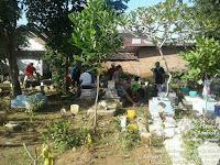 Rambipuji || Karang Taruna Dusun Gudang Karang Kerja Bakti Di Pemakaman Umum