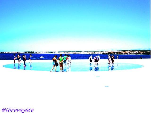 Zara saluto al sole Croazia