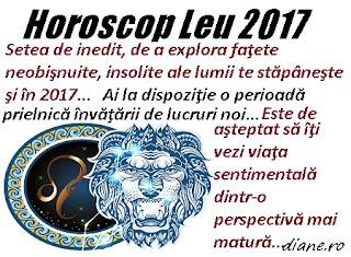 Horoscop Leu 2017
