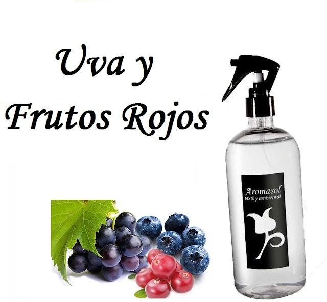 Perfume para la ropa Uva y frutos rojos