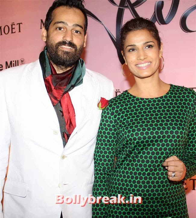 Kamal Sidhu and Nico Goghavala, Celebs at Moet and Chandon Valentines Day Celebrations