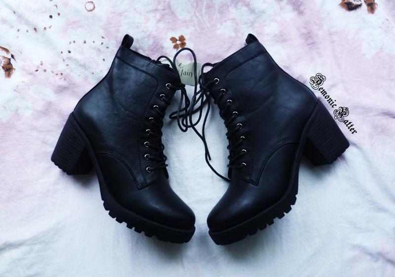 270a07fb9bfe2 Chyba tylko pierwsze z prezentowanych dziś butów - botki od Jenny Fairy -  mogę uznać za zakup w pełni udany. Ponadto wyłamują się z konwencji  brzydkiego ...